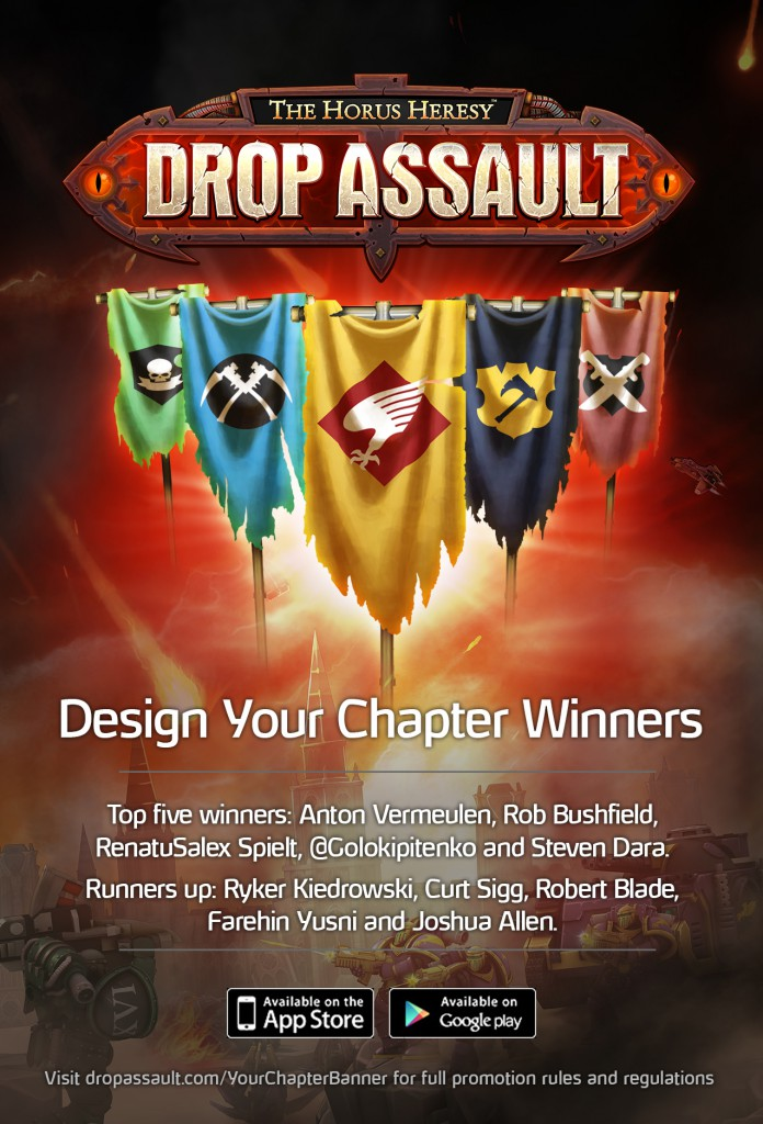 Chapter Banner Contest Winners