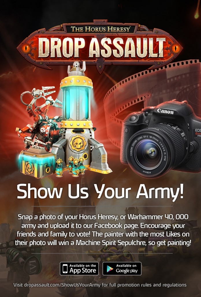 Show Us Your Army Contest
