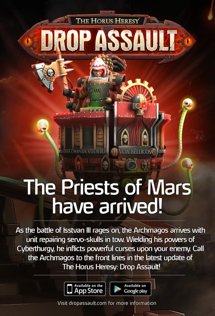 Archmagos available now!